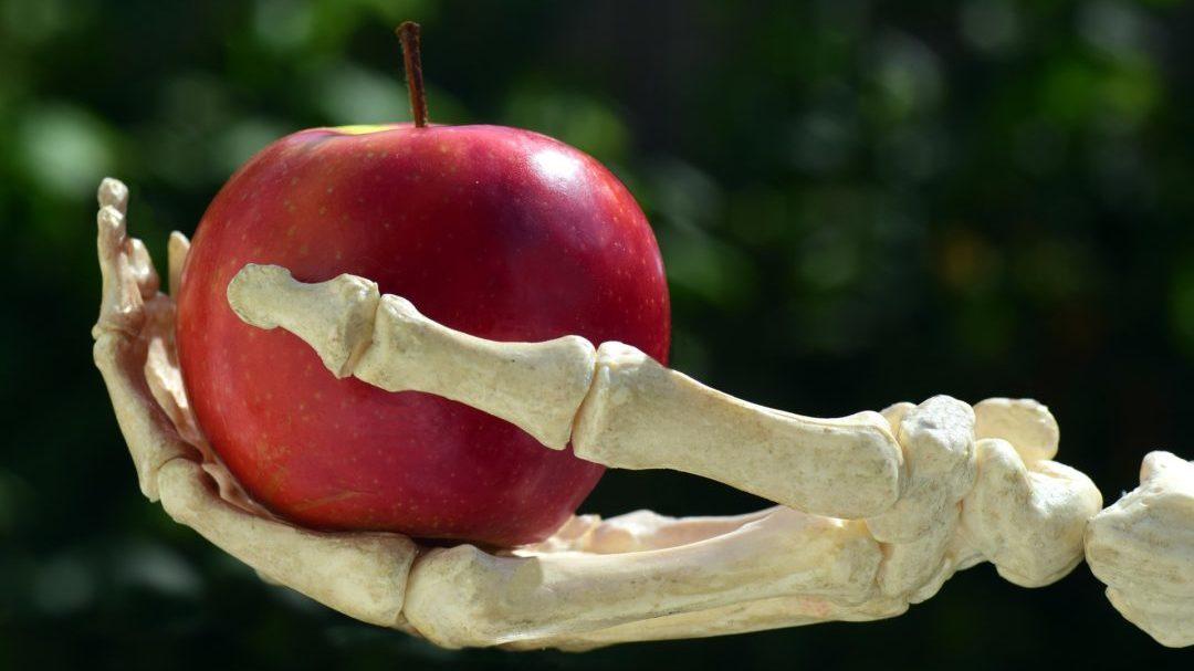 骸骨りんご